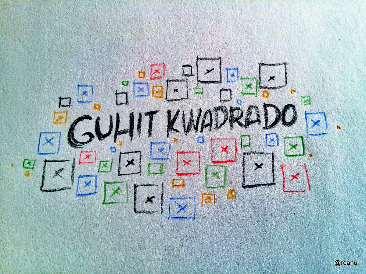 The boxes of Guhit Kwadrado